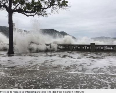 O Sistema AquaSafe está a ter impacto no dia-a-dia de Santos (Brasil)