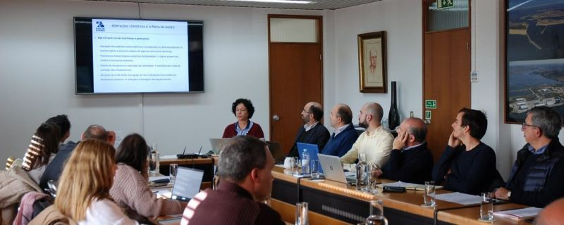 Meeting on the impact of climate change in the activity of Porto de Aveiro