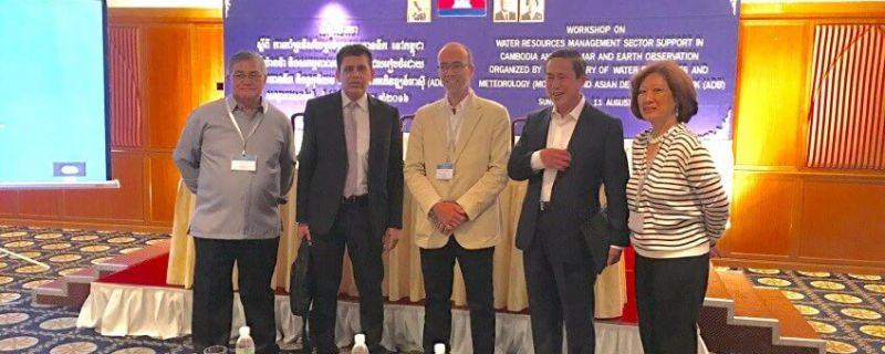 Hidromod organiza uma workshop focada na gestão da água no Cambodja