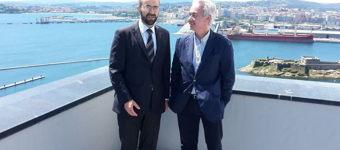 La Coruña port authority acquired the AQUASAFE OSS Service