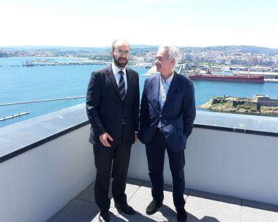 A Autoridade Portuária da Corunha adquiriu o serviço AQUASAFE OSS